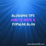 blogging tips lifestyle fifty