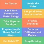 How to live a more simple lifeHow to live a more simple life