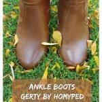Top Ankle Boots, Gerty by Homyped