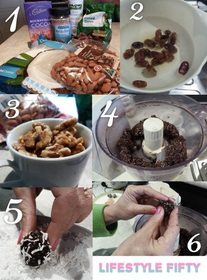 Cacao Balls recipe in images