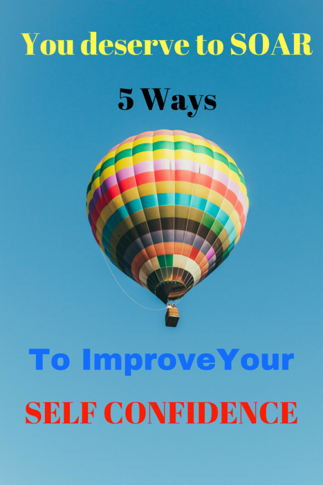 5 Ways to improve self confidence