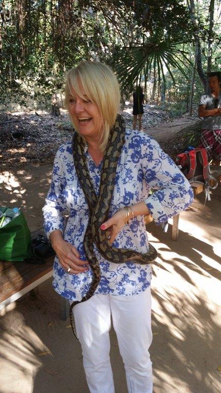 Magnetic Island, snake