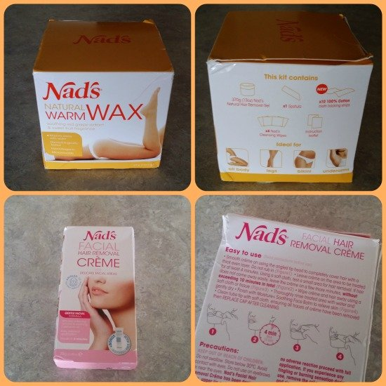 nad's hair removing products