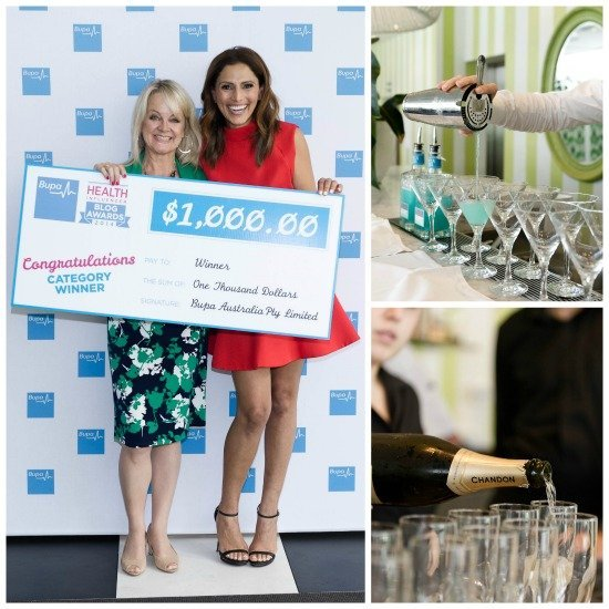 BUPA Health Influencer Blog Awards