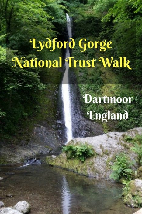 Lydford Gorge. National Trust Walk. Dartmoor. England