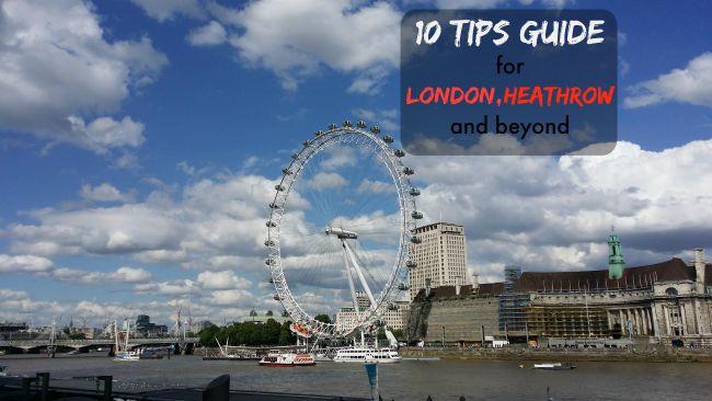 Money saving tips for London, Heathrow and Beyond.