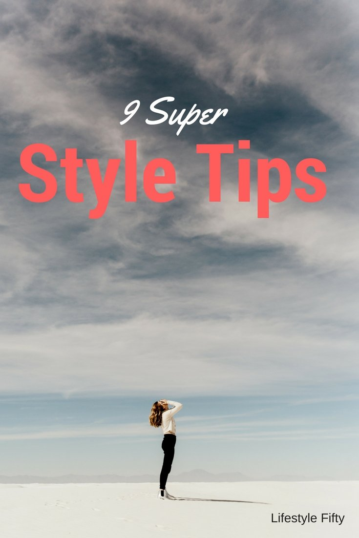 "Super Style Tips. Picture of woman on beach from the post ""Chic Style"""