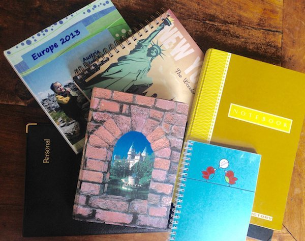 Some of my travel journals
