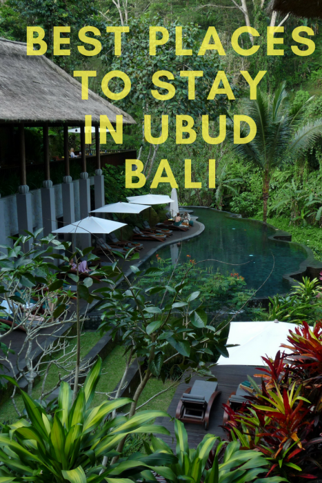 Where to stay in Ubud, Bali.