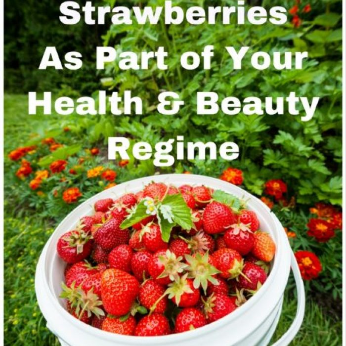 strawberries for health and beauty