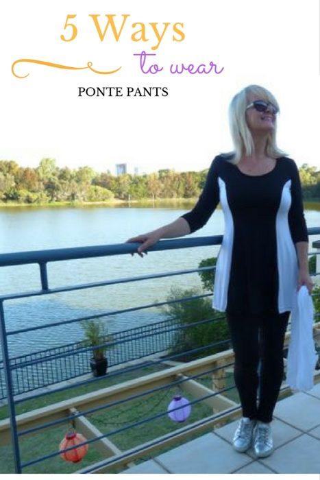ponte pants