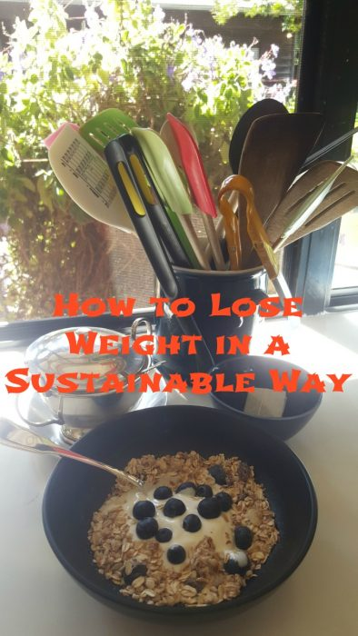 How to lose weight in a sustainable way.
