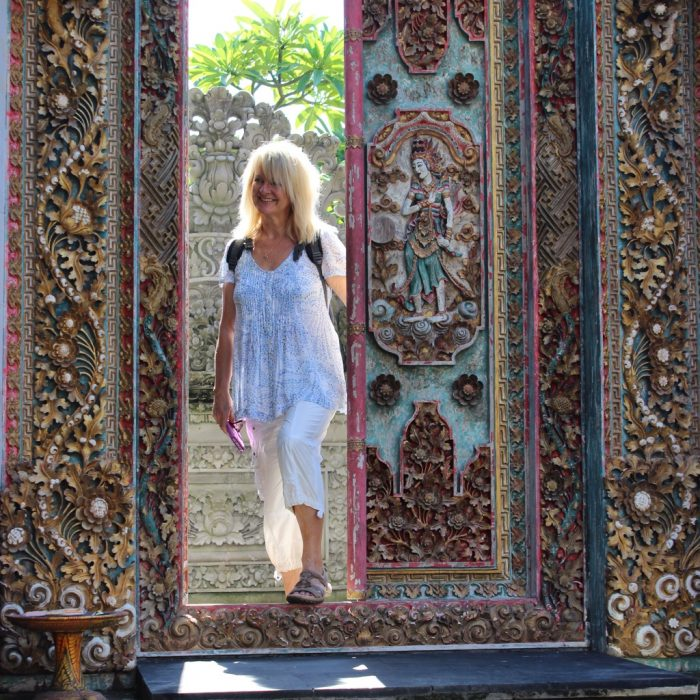 Why Travel - here are reasons to pack your suitcase and just go. Pic of Balinese door.