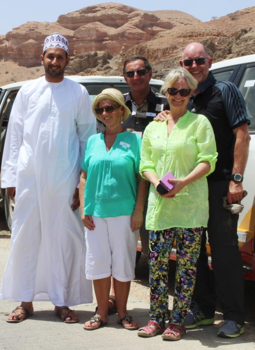 Why Travel - reasons to pack your suitcase and go! Pic of tourists in Oman.