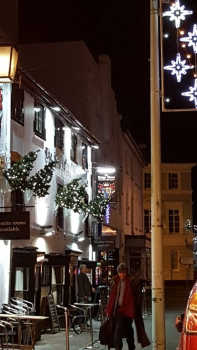 Merry Christmas Bideford Devon