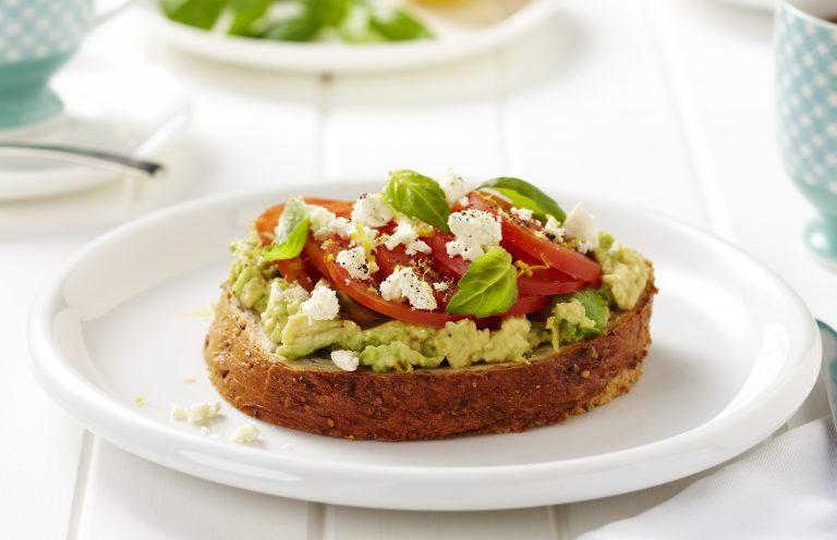 How to incorporate dairy into your daily diet, pic of avocado feta toast
