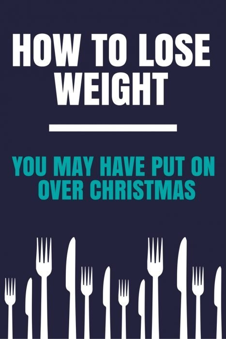 How to lose weight you may have put on over Christmas