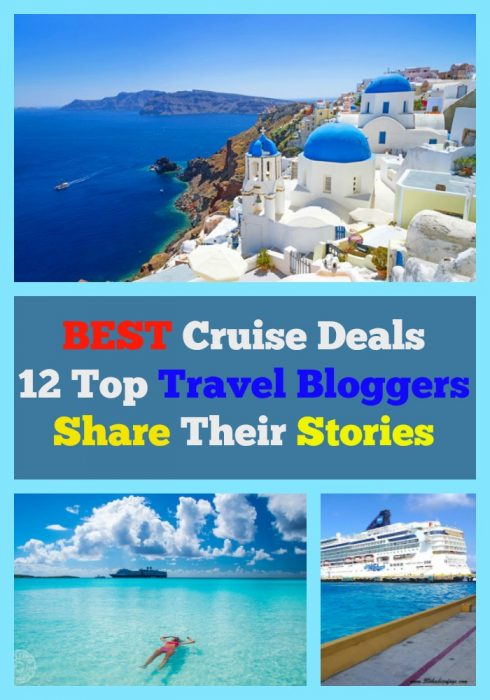 best cruise deals, top travel bloggers share their stories