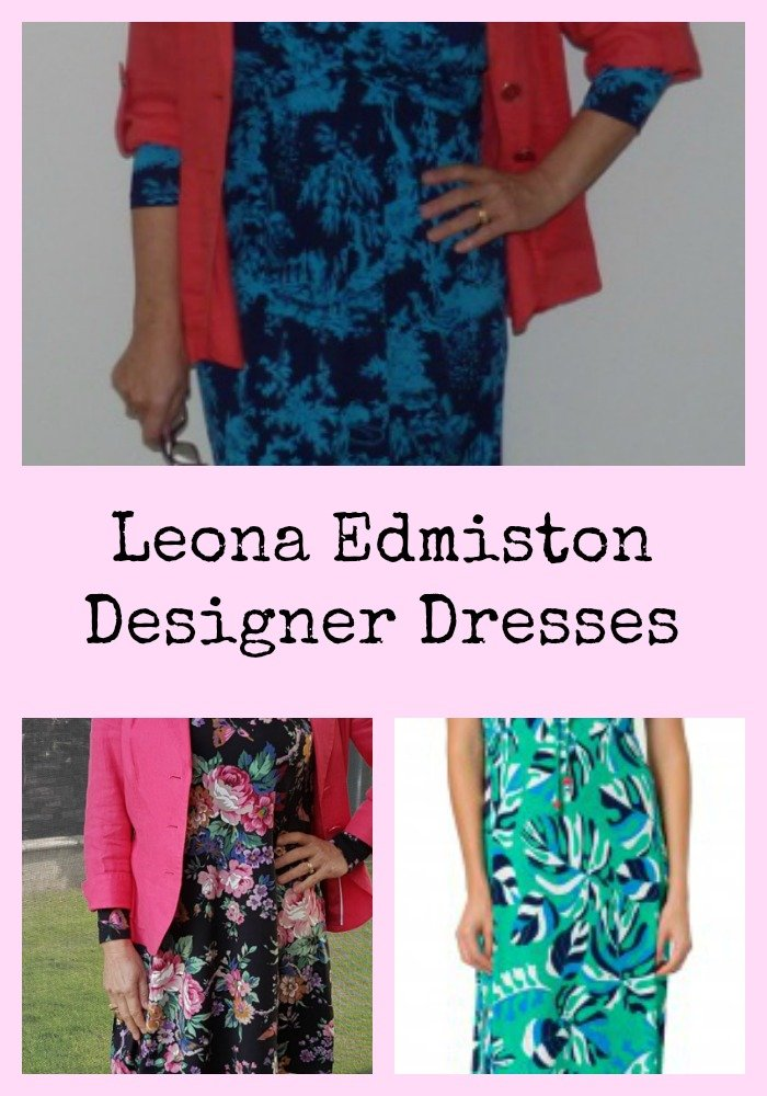 Pick up a designer dress at an affordable price. Have you checked out Leona Edmiston frocks and dresses? I LOVE them. And there's one for every body shape.