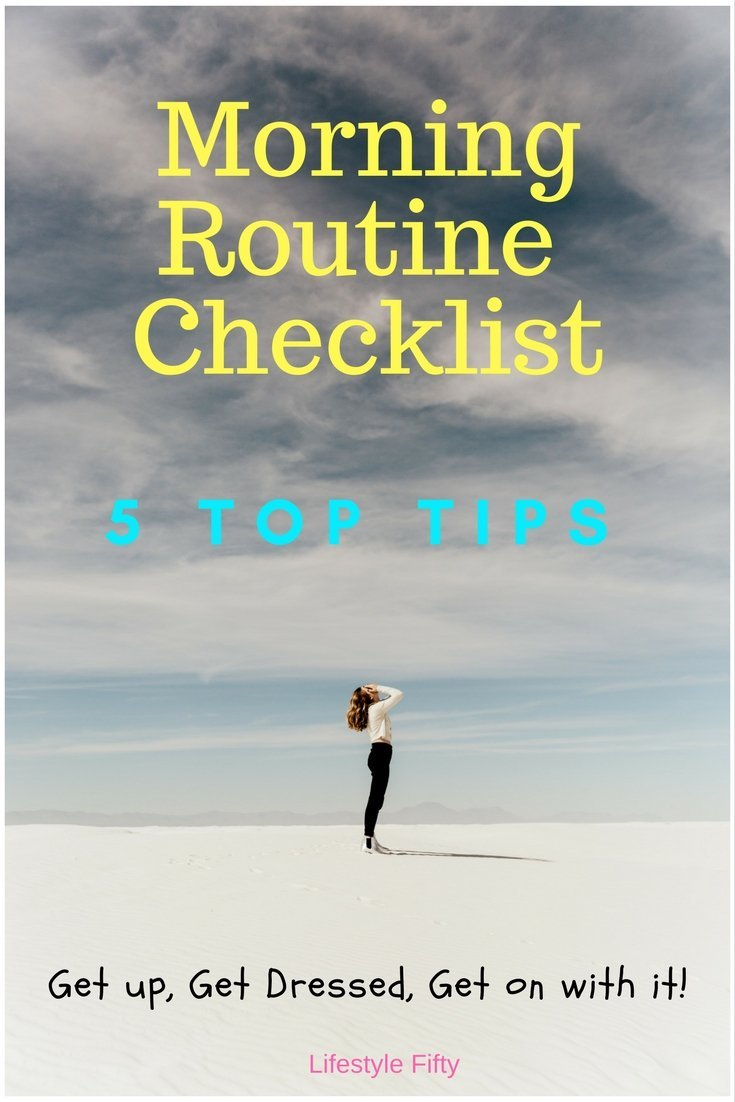 5 Top Tips for a sustainable morning routine checklist