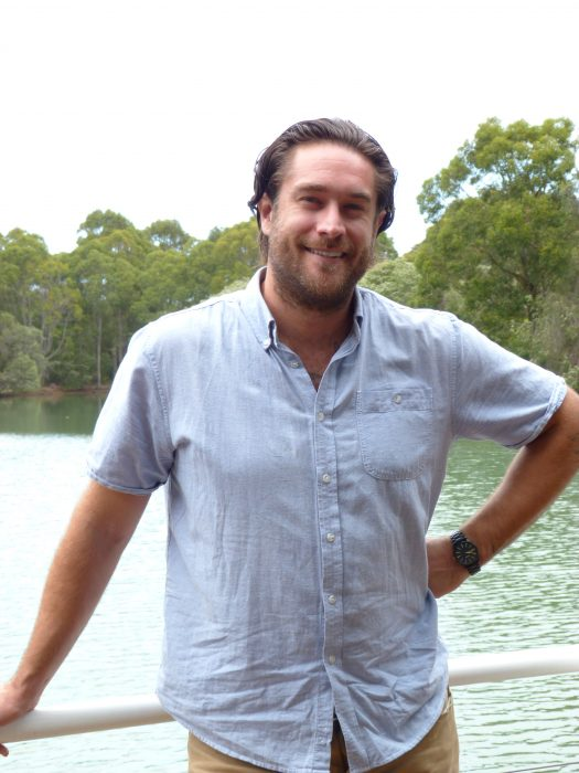 Michael Hunter from Canada, at Cape Lodge, Margaret River