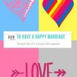 21 Tips for a Happy Marriage (without Marriage Counselling)
