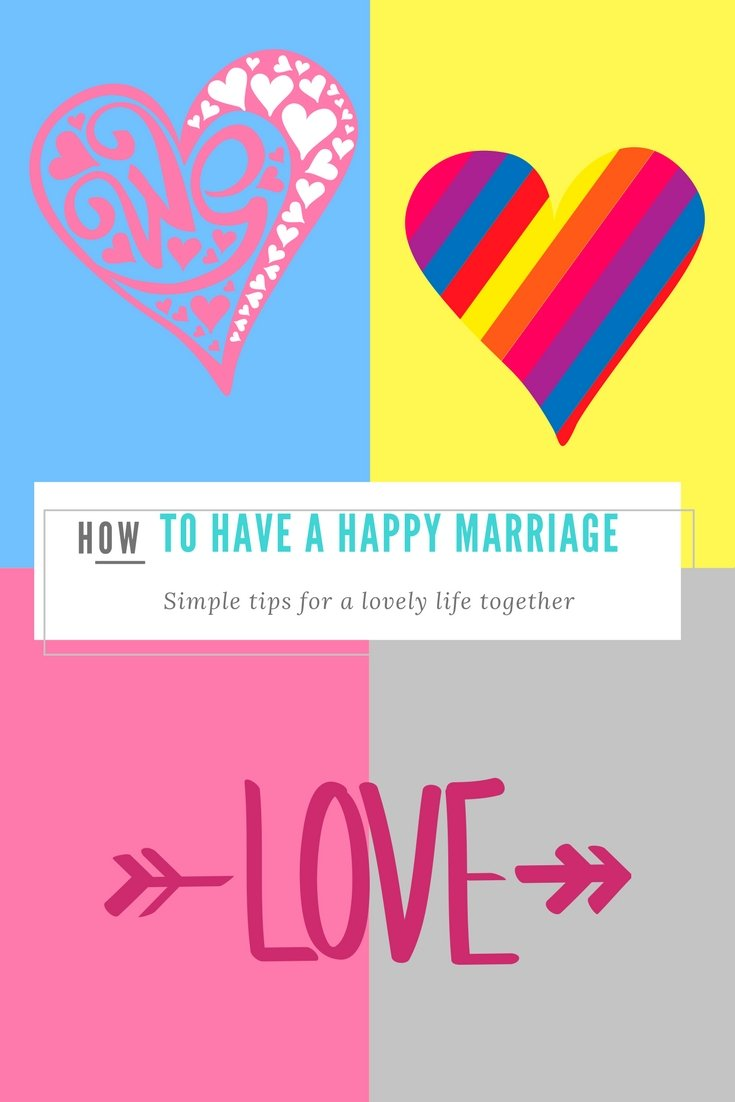 how to have a happy marriage without marriage counselling