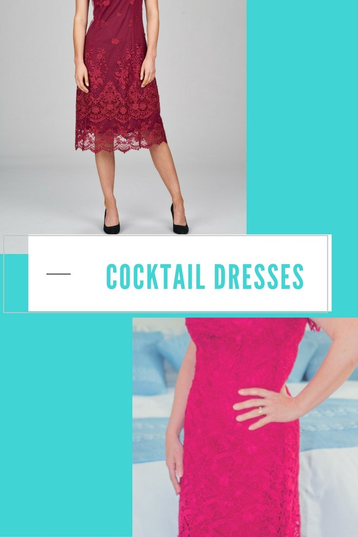 Cocktail dresses. Why choose a red cocktail, evening or party dress? The power of red. Suggestions and stockists of evening and cocktail dresses.
