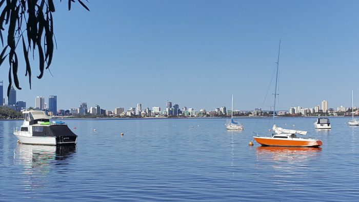 Fun things to do in Perth. The Swan River.