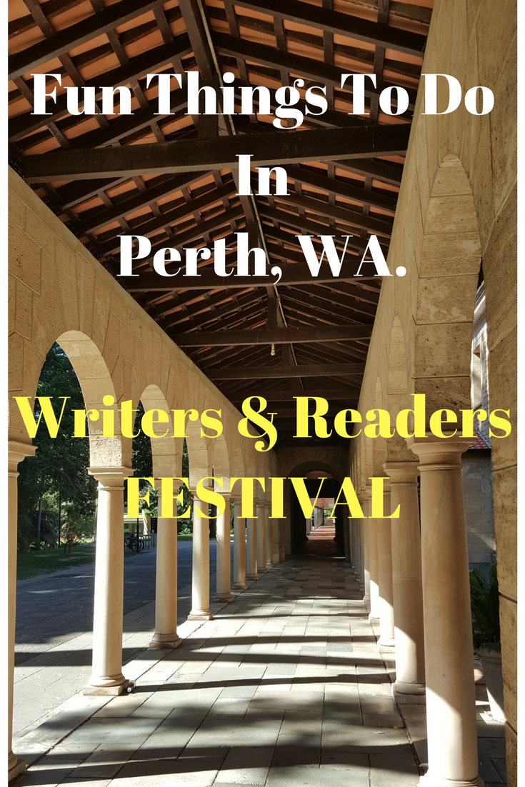 Fun things to do in Perth, WA. Writers and Readers Festival. Plus 5 very special books.