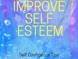 How to improve self esteem