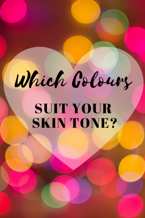 Which colours suit your skin tone