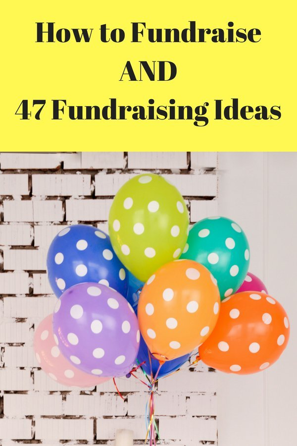 charity fundraising ideas