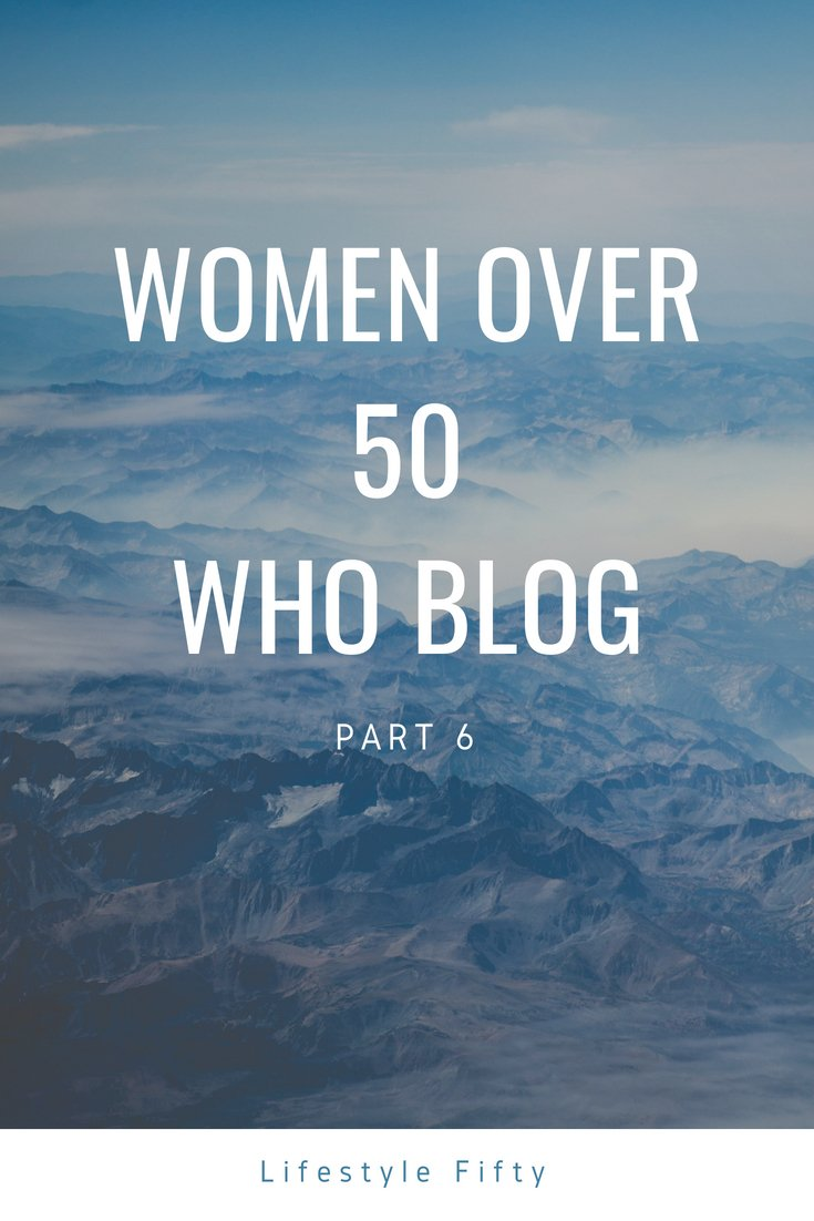 Lifestyle 50. Women over 50 who blog