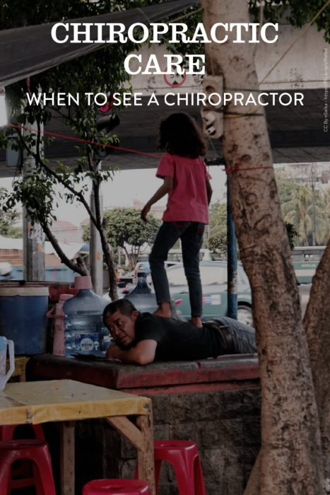 Chiropractic care. When do you need chiropractic care. What is it? How to find a chiropractor.