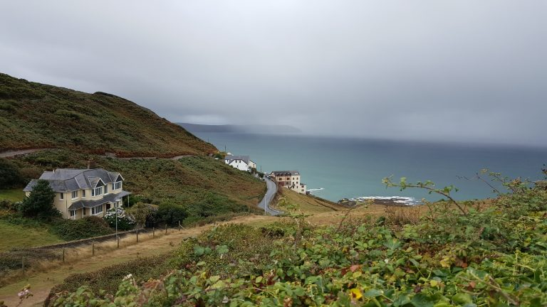 Mortehoe, a village on the North Devon Coast