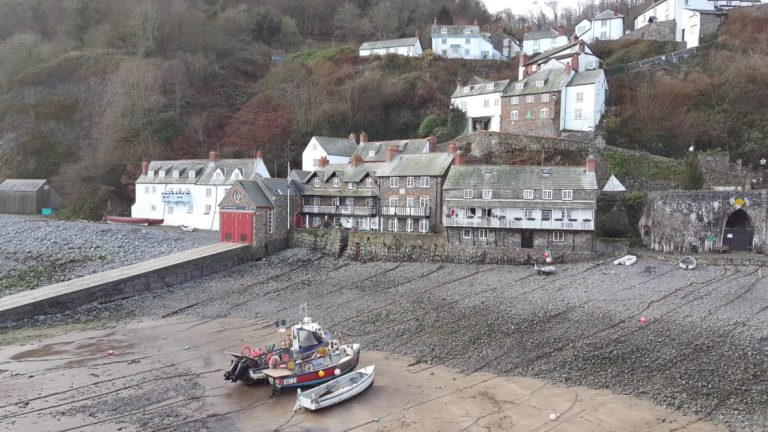 Clovelly quay, north devon