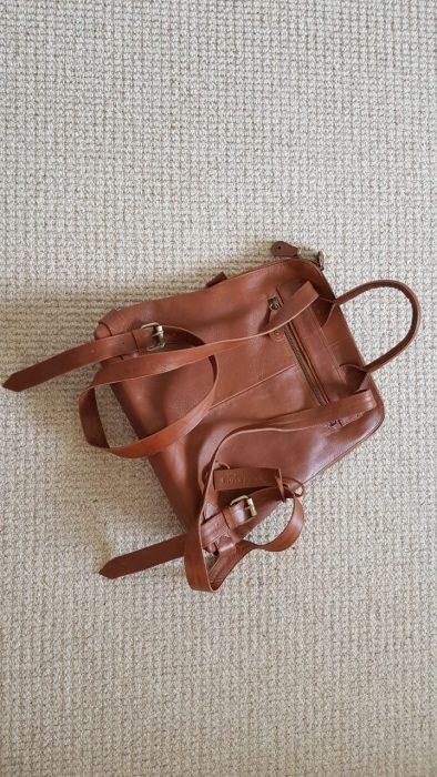 Rucksack day bag from  International Travel Packing list