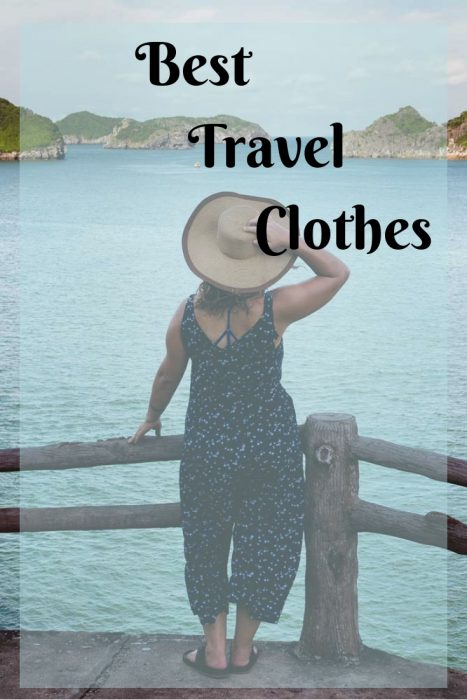 Best travel clothes, gear, hats and bags