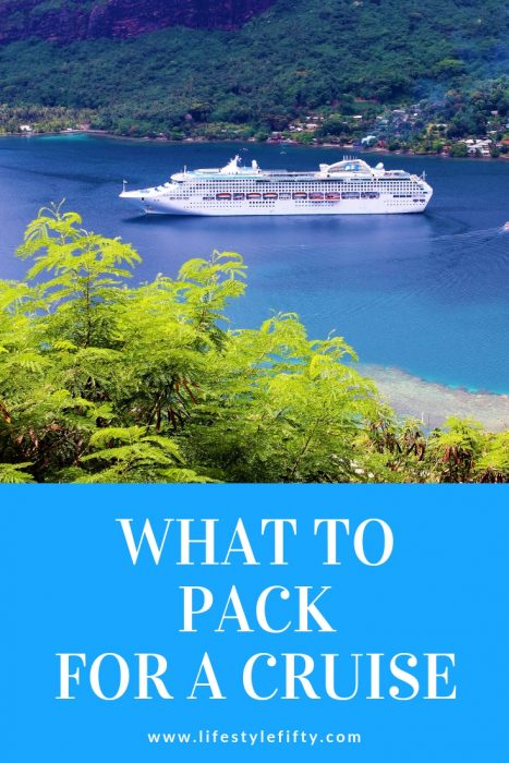 What to pack for a cruise. Photo of Sea Princess. Article includes essential tips about what to wear on a cruise, a cruise packing list, how to pack for a cruise and things you need for a cruise.