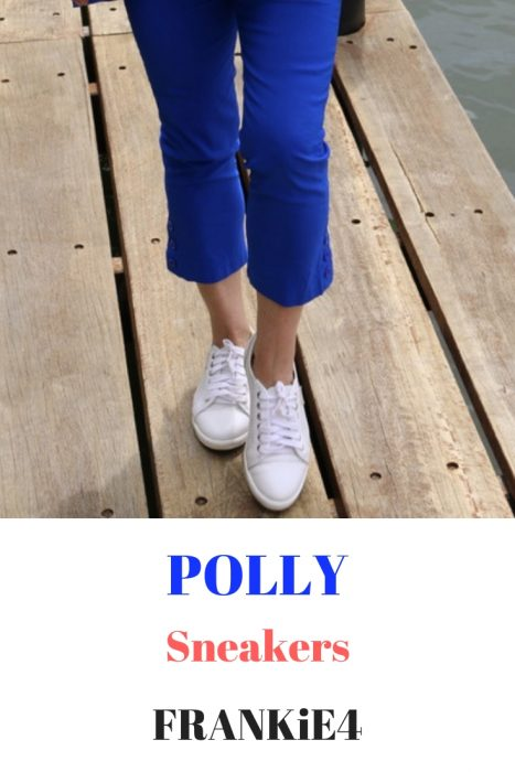 POLLY sneakers by FRANKiE4 for weekend wear.