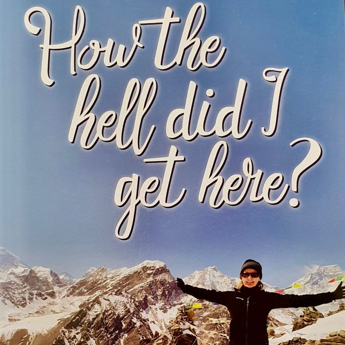 Motivational Books - How the Hell Did I get here - book cover - Pamela Lynch