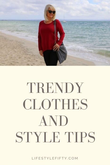 Trendy clothes for women over 50