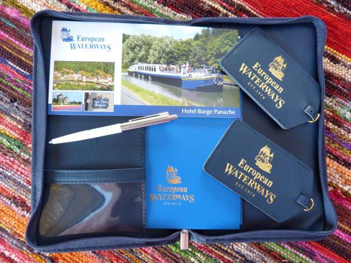 Travel Wallet, barge cruises in France, Panache, European Waterways