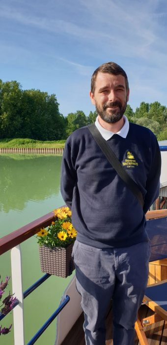Florian, Cruise Director, European Waterways