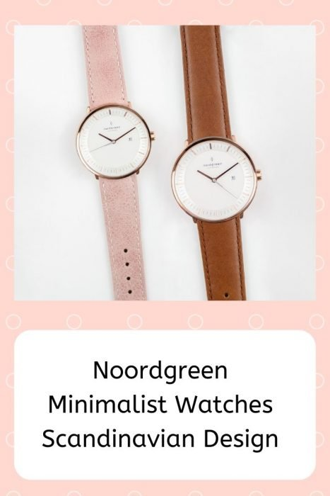 Scandinavian design watches
