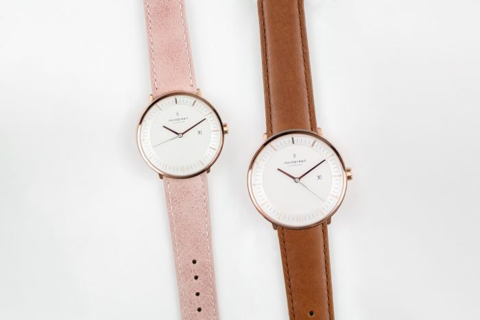 Beautiful leather watches