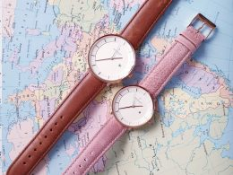 Minimalist leather watches
