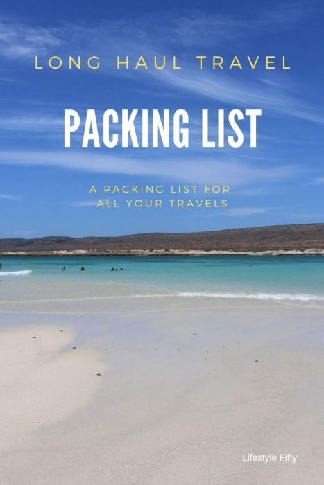 Pic of beach - International Travel Packing list