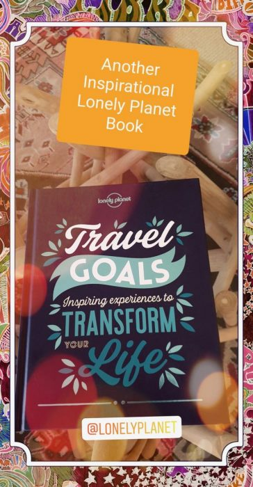 Pic of book cover - Travel Goals by Lonely Planet